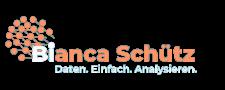 logo, Bianca Schuetz, Daten, Einfach, Analysieren, tuerkis