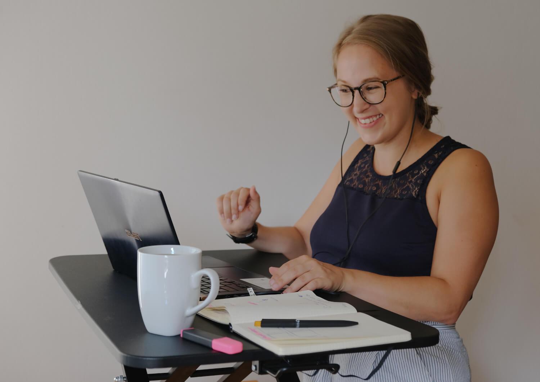 bianca schuetz, training, online, Spass, lachen